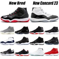 New Bred 2019 Femmes Chaussures de basket-ball Concord 23 25e anniversaire 11s Low Barons Win Like 96 82 Chaussures Homme Sport Chaussures Hommes