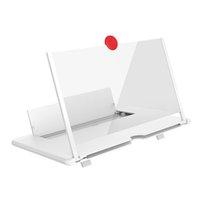 10 pollici del telefono cellulare Magnifier Supporto 3D screen Film HD portatili mobile universale Amplificatore con supporto pieghevole Ingrandire stand