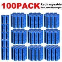 100Pack 3000mAh Wiederaufladbare 18650 Batterie 3.7V Hohe Qualität BRC Li-Ion 18650 Batterien 3000mAh für Taschenlampe Fackellaser