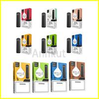 Myle mini-jetable Vape, Myle Pen 280mAh Batterie de pods cartouches pré-rempli de e CIGS appareil Vs Puff Bars plus de flux Bang XXl