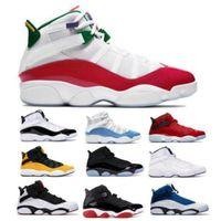 2020 6 6s Anneaux Hommes Chaussures de basket Six Light Blue Taxi Concord Espace UNC Jam Bred South Beach Confetti Chaussures Scarpe Baskets Sneakers
