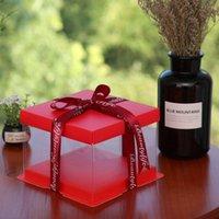 KCCB 2020화물 무료 포장 상자 명확한 케이크 상자 / 투명 케이크 상자 / 포장 선물