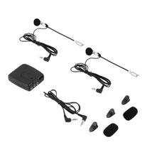 Capacete de Intercomunicador de Motocicleta para Sistema Communicator 2 Way Headset para Intercomunicadores de Motos MP3 GPS ~