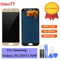 Samsung Galaxy J530 LCDS 디스플레이 화면 디지타이저 조립 테스트를위한 최고 품질 OLED 휴대 전화 터치 패널 엄격하게 무료 DHL
