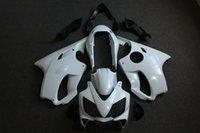 2020 unpianted Motorcycle Panel Carénage Kit carrosserie complet en plastique Ensemble complet Fit Pour CBR600 F4I 01-03 Gloss White CBR600 2001-2003