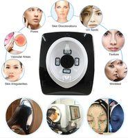 2020 أحدث التكنولوجيا Visia المرآة السحرية محلل الجلد مع الأشعة فوق البنفسجية + RGB + رر الجلد تحليل محلل الجلد 3D
