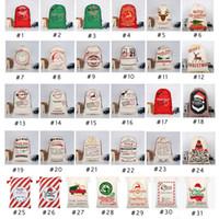 31 STILI regalo di Natale Borse 2020 nuovo sacchetto di Natale sacchetta con le renne di Babbo Natale Sacca Borse per Santa Sack ragazzo Bag EEA1868