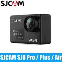 SJCAM 4K عمل الكاميرا SJ8 برو / SJ8 زائد / الهواء 1296P 4K 30fps تجهيز / 60FPS HD التحكم عن بعد خوذة مضادة للماء FPV الرياضة DV