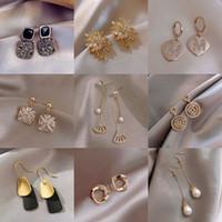 925 Pendientes de plata de cristal natural Moda al por mayor Pequeña joyería de plata esterlina para mujeres Hombres o mujeres Earings