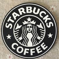 PVC KOLAYLARI KUPASI Paspaslar Termo Yastık Tutucu Starbucks Deniz Hizmetçi Kahve Coastersmatnon Kayma Seramik Su Bardakları Kupa Süt Coaster Hızlı Gemi