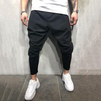 Zogaa 2020 New Cross Joggers homme Hip Hop Streetwear Pantalons simple Track Homme coton solide Sweatpants profond Crotch Baggy Trousers