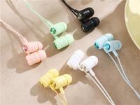 Por mayor hecho a los niños auriculares con micrófono niños con cable Auriculares Auriculares para aulas de Bibliotecas Hogar viajes Regalo 6 Colores