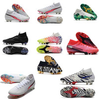 Mercurial superfly السادس 360 النخبة fg فلاش قرمزي الاطفال أحذية كرة القدم cr7 رونالدو نيمار رجل المرأة أحذية كرة القدم أحذية كرة القدم المرابط