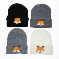 Tradition Knitted Simple Beanie For Kids With Animal Design ...