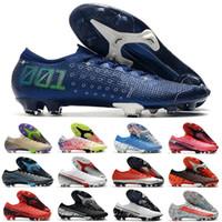 2021 Мужская низкая Mercurial CR7 Dream Speed XIII ELITE FG 13 RONALDO NEYMAR NJR 360 Женщины Детские Мальчики Футбол Шлейфы Футбольные Ботинки Обувь