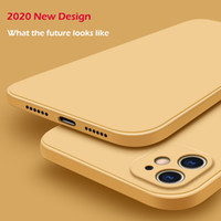 Nouveau officiel liquide Etui en silicone pour iPhone Para 11 Pro Max 12 6.1 Coque Case pour iPhone XR XS Max X 7 8 6S Plus SE 2 2020 Case Cover