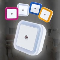 Mini Led Night Light Sensor Control Night Lamp Auto Control ...