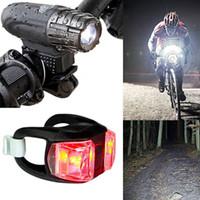 Bike Lights Light 4 Models USB ricaricabile bicicletta posteriore coda posteriore di sicurezza AVVERTENZA Ciclismo Flash Super Bright Accessori
