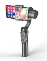 المثبتات التقاط 3 محور يده جيمبال استقرار الهاتف الذكي ل SJCAM 4K عمل كاميرا Gimbals