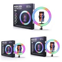LED RGB RGB Loop Selfie Photo Studio Camera Video Encher Light para YouTube Maquiagem Selfie