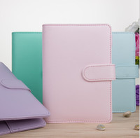 A6 Magic Book Notepads Case Bonito Multi Cores Notebook Nenhum papel dentro da Escola Espiral Escola Suprimentos por FedEx A10