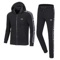 Herren- und Damenmode Sportswear Hoodies und Sweatshirts Herbst / Winter Jogginganzüge Herren Outdoor Sports Anzüge Kostenloser Versand G12