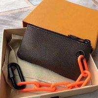 مصمم عملة محفظة الرجال النساء السيدات محفظة محفظة جلدية محافظ عملة الحقيبة الفاخرة مصمم مفتاح سلاسل محفظة مصغرة pochette الملحقات