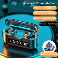 Nueva inalámbrica auriculares Micrófono TWS impermeable del deporte de Bluetooth 5.0 táctiles de música del deporte de control de llamadas móviles HD gemelos Auriculares para Iphone 11 X