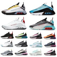 max 2090 shoes airmax Stock X New Arrival 2090 men women running shoes bred triple black white pink oreo 2090s mens trainers designer sports sneakers Eur 36-45
