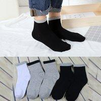 Les hommes de LNCDIS 1pair hommes non élastiques 100% pur coton Chaussettes Soft Comfort Grip hommes drôles diabétiques calcetines hombre F1