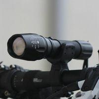 자전거 조명 고품질 360도 회전 자전거 LED 마운트 브래킷 홀더 토치 클립 클램프 고정 유니버설 회전