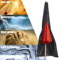 Палатки и приюты Водонепроницаемый открытый зонтик крышки хранения молнии сумка патио крышка, садовый двор рынок парасоль