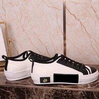 Cartas Técnicas lona de abelhas BAIXA Sapatilhas em Oblique Mens Designer Shoes Womens Moda B22 B23 B24 B01 B02 sapatilhas 35-45