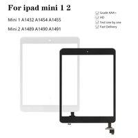 Tela sensível ao toque para iPad mini-1 2 Toque Vidro Screen digitalizador A1432 A1454 A1455 A1489 Com IC