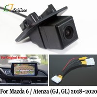 Для 6 Sedan Atenza GJ GL Facelift 2020 2020/28 Pin Интерфейс для OEM мониторов / 6V HD заднего вида автомобиля камера заднего вида