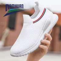 Damyuan Fashion Style Women Spring Summer Shoes Air Mesh for Women Autumn Casual Sneakers Breathable Grey Black 35-42 Slip-on