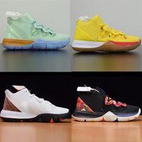 2020 Баскетбольные туфли Крем Crelect World Shanghai City Smiley Спортивные кроссовки Bruce Lee La 5 Прото Металлические Тренеры Мужчины Мандарин Утка