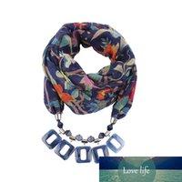 Pingente lenços resina pendeloque corte cachecol lenços pescoço ornamentos colar nação ventos ventos acessórios peças decoração moda mujer flor fábrica
