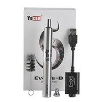 Autentica secca erba Yocan Evolve-D Starter Kit penna vaporizzatore con Pancake doppio bobine 650mAh batteria ego filo atomizzatore genuino al 100% 2.204.022