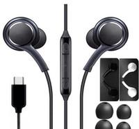 유선 이어폰 헤드폰 이어폰 노트 10 Type-C 헤드폰 헤드셋 스테레오와 삼성 갤럭시 노트 10 A60 A80S S10
