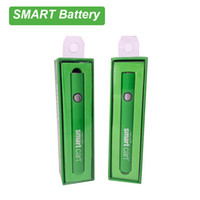 510 Smart Battery vape bateria recarregável Pré-aqueça Bateria EGO Variable Voltage Para SmartCart carrinhos Box Packaging