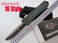 Özel teklif ! 10 Stiller Microtech troodon Scarab S / E En İyi Otomatik Bıçak Marfione Özel troodon Halo V A07 C07 Hediye Knife Bıçak