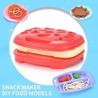Pretend Role Machine Kids Kitchen Kit House Sets Simulation Game Maker Bread Ice Cream Toys Toasters Baking Play Blender Mixer Oegfg