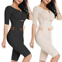 Taille formateur Femmes Full Body amincissants Combinaison après compression vêtement ferme contrôle du corps Shaper Sous-vêtements Minceur