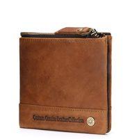 Fashion 2020 Men Wallets Mens Wallet with Coin Small Money Purses New Design Dollar Slim Purse Money Clip Wallet