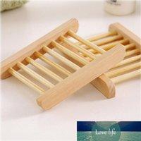 Натуральная бамбуковая мыльная тарелка для кухни для ванной комнаты Держатель для хранения стойки пластины контейнер портативный душевые аксессуары