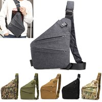 DIENQI Small Anti Theft Crossbody Bags For Men Thin Mens Bag Sling Purses Security Male Short Trip Holster Tactical Summer Bag