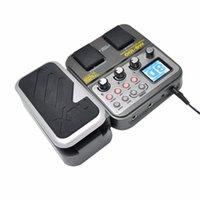 Freeshipping MG-100 Modeling Guitar Processor effetto della chitarra del pedale del tamburo registratore del sintonizzatore multi-funzione 58 Effect 72 Preset