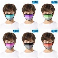 Toz geçirmez Respiratörü Yıkanabilir mascarilla Yeniden kullanılabilir Bezi Yüz D2 6fdf Gradyanları Sadelik Binme Açık Güneş Koruma Yeni Desen 2 Maske