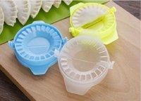 DIY Knödel-Hersteller-Werkzeug-Form-Teig-Presse Fleisch Jiaozi Maker Dumpling Mold Clips Backformen Backwaren Küchenzubehör